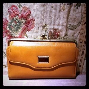 Vintage genuine leather Scotsdale brand new wallet